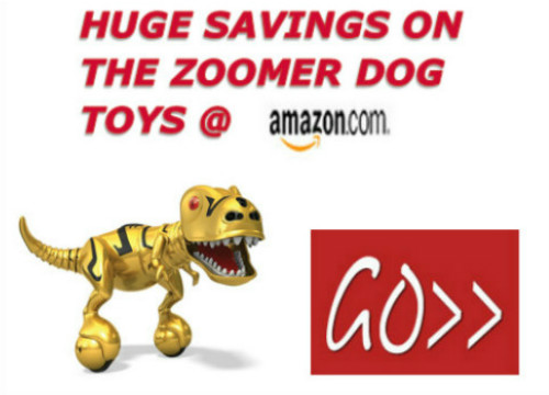 Zoomer Interactive Dog Toys